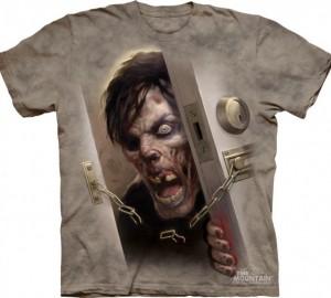 Футболка The Mountain Zombie At the Door- Зомби за дверью
