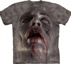 Футболка The Mountain Zombie Face - Лицо зомби