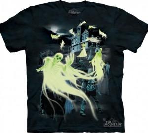 Футболка Skulbone Zombies & Ghosts - Зомби и призраки (светится в темноте)