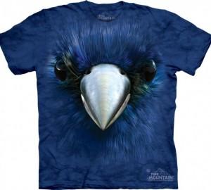 Футболка The Mountain Bluebird Face - Лазурная птица
