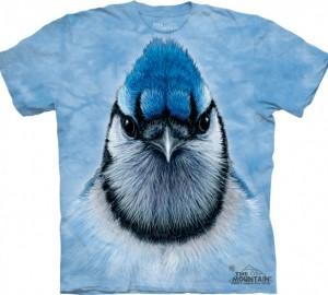 Футболка The Mountain Bluejay - Голубая сойка