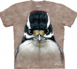 Футболка The Mountain Downy Woodpecker
