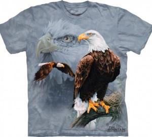 Футболка The Mountain Eagle Collage - Орлы
