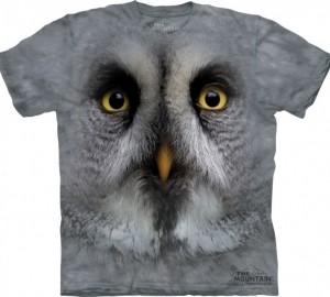Футболка The Mountain Great Grey Owl - Большая серая сова
