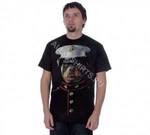 Футболка The Mountain Marine Sarge - Сержант ВМФ