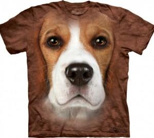 Футболка The Mountain Beagle Face - Морда Бигля