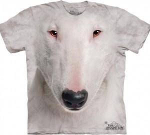 Футболка The Mountain Bull Terrier Face - Бультерьер