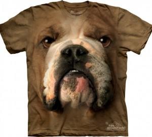 Футболка The Mountain Bulldog Face - Морда бульдога