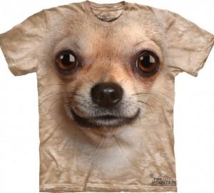Футболка The Mountain Chihuahua Face - Морда Чихуахуа