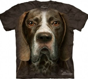 Футболка The Mountain German Shorthaired Pointer Head - Морда пойнтера