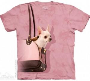 Футболка The Mountain Handbag Chihuahua - Чихуахуа в сумочке