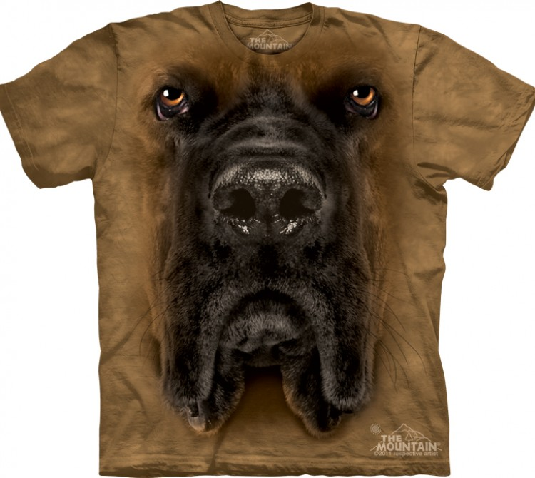 Футболка The Mountain Mastiff Face - Морда мастифа