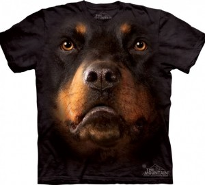 Футболка The Mountain Rottweiler Face - Морда ротвейлера