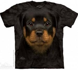Футболка The Mountain Rottweiler Puppy - Щенок Ротвейлера