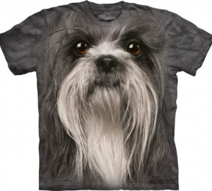 Футболка The Mountain Shih Tzu Face - Морда Ши-тцу