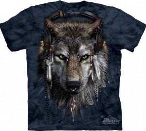 Футболка The Mountain DJ Fen - Диджей волк