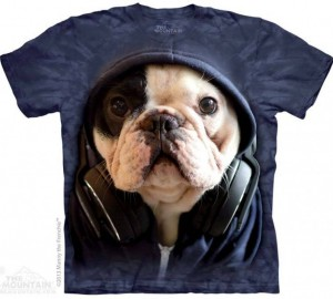 Футболка The Mountain DJ Manny the Frenchie