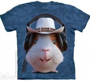 Футболка The Mountain Guinea Pig Cowboy - Ковбой Морская Свинка