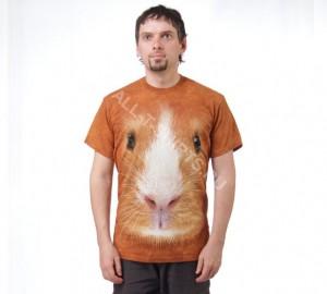 Футболка The Mountain Guinea Pig Face - Морда морской свинки