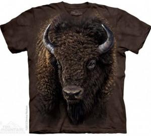 Футболка The Mountain American Buffalo - Буйвол