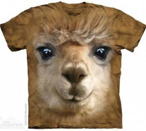Футболка The Mountain Big Face Alpaca - Альпака