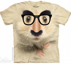 Футболка The Mountain Big Face Hamster of Mystery - Хомячок в маске