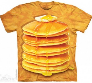 Футболка The Mountain Big Stack Pancakes - Блинчики
