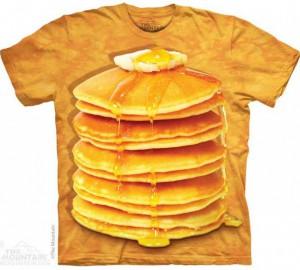 Футболка The Mountain Big Stack Pancakes - Блинчики