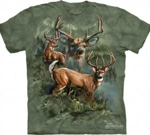 Футболка The Mountain Deer Collage - Олени