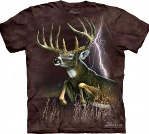 Футболка The Mountain Deer Lightning