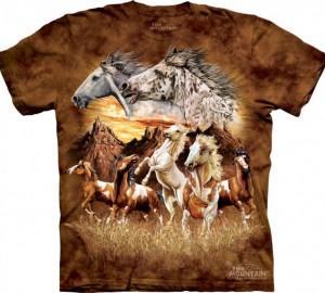 Футболка The Mountain Find 15 Horses - Найди 15 лошадей
