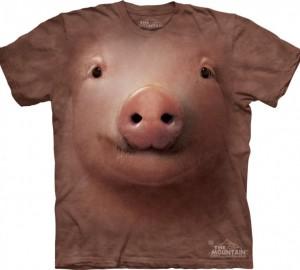 Футболка The Mountain Pig Face - Морда свиньи