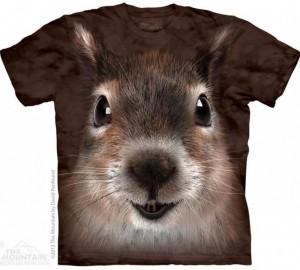 Футболка The Mountain Squirrel Face - Морда Белки