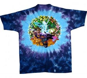 Футболка Liquid Blue Mushroom Garden - Сад грибов (двухсторонняя)