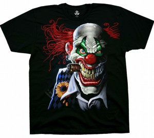 Футболка Liquid Blue Joker Clown - Клоун Джокер