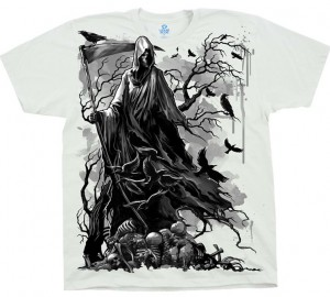 Футболка Liquid Blue Reaper Crows - Вороны и смерть