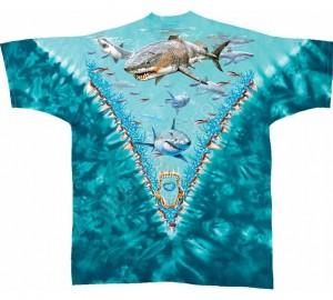Футболка Liquid Blue Great white sharks - Большая белая акула (двухсторонняя)