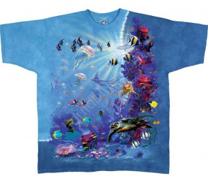 Футболка Liquid Blue Tropical Reef - Тропический риф
