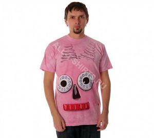 Футболка The Mountain Big Face Pink Robot - Розовый Робот