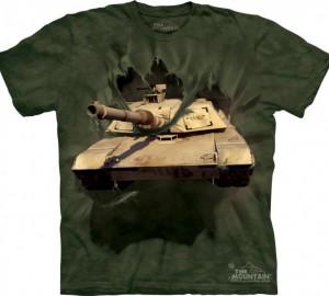 Футболка The Mountain M1 Abrams Tank Breakthru