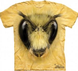Футболка The Mountain Bee Head - Пчела