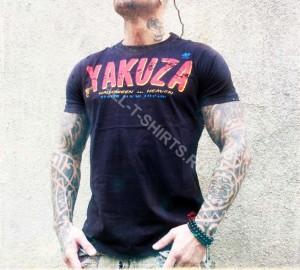 Футболка Yakuza TSB 306 Black
