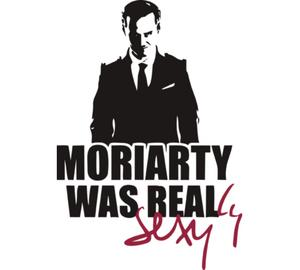Moriarty Was Real подушка (цвет: белый)