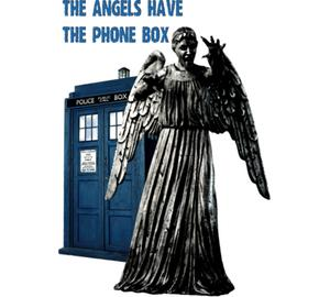 The angels have the phone box бейсболка (цвет: желтый)