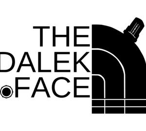 Далек (Доктор Кто) - The dalek face подушка с пайетками (цвет: белый + красный)