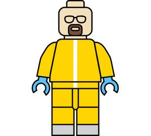 Heisenberg (Breaking Bad) подушка с пайетками (цвет: белый + сиреневый)