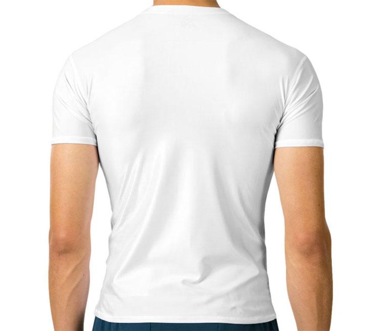Мужская футболка с коротким рукавом стрейч (цвет  Белый)   Все ... ff24126f175