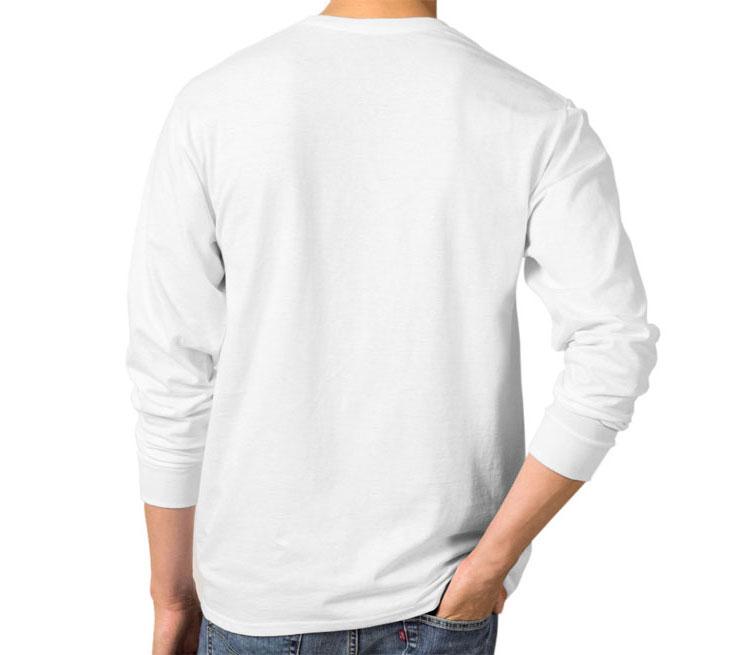 Мужская футболка с длинным рукавом (цвет  Белый)   Все футболки ... a585ade134d
