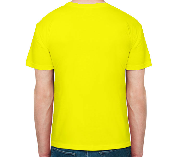 Мужская футболка с коротким рукавом (цвет  Лимон)   Все футболки ... c0304ab8d70