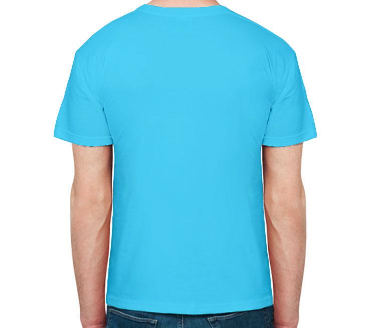 Мужская футболка с коротким рукавом (цвет  Небесный)   Все футболки ... 72951315699